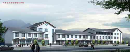 农村三层楼房设计图 沿街
