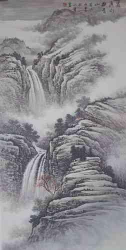 早年学习中国水粉画和传统国画,近年又师从著名山水画家王裕国,师恩钊